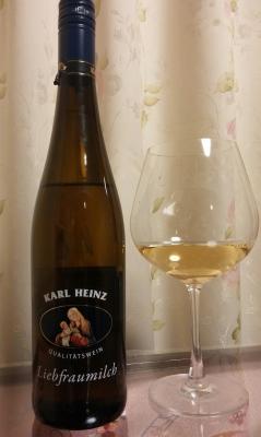 KARL HEINZ-bottle and glass