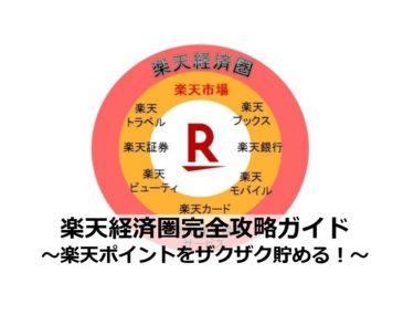 楽天経済圏の内容・攻略ガイド【2021最新】