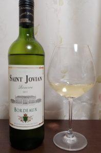 wine-saintjovian-botl and glass