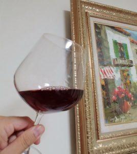 安心院ワイン グラス