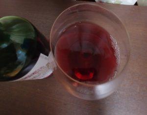 安心院ワイン グラス ボトル