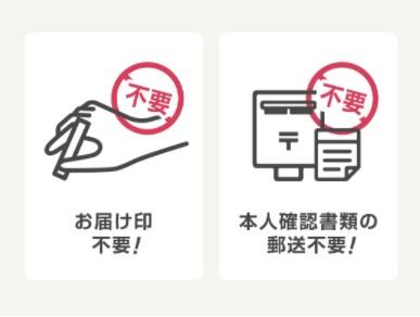 イオンカード作成には印鑑や本人確認書類の郵送不要