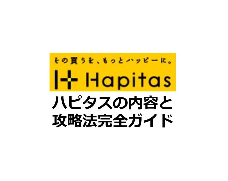 ハピタスの内容と攻略法完全ガイド